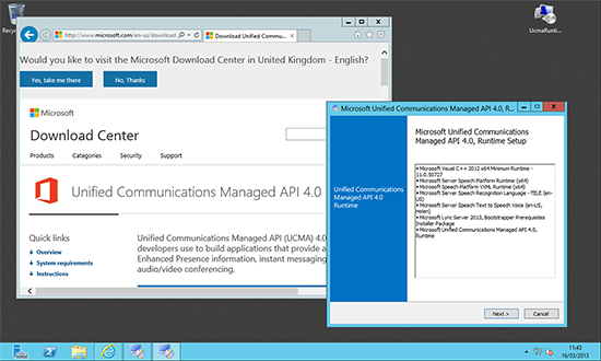 Exchange 2013 Unified Comms API