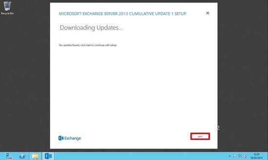 Exchange 2013 Updates