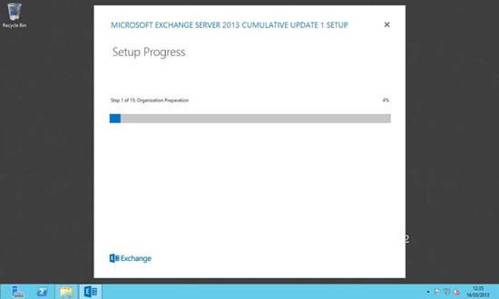 Exchange 2013 Install Steps