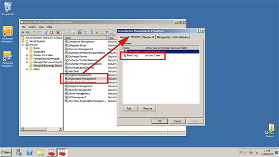 Exchange 2013 Check Add Exchange Administrator