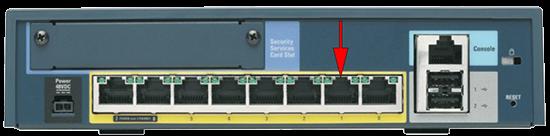 ASA 5505 Port1