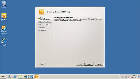 Exchange 2010 Maintenance Mode
