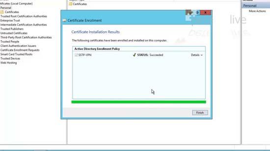 Enrol Certificate