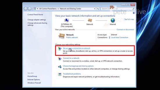 Setup SSTP VPN