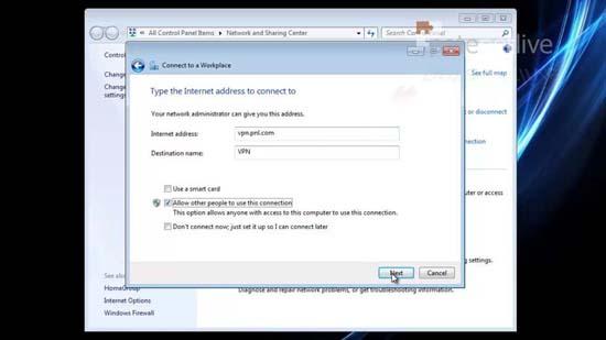 Configure Client SSTP VPN