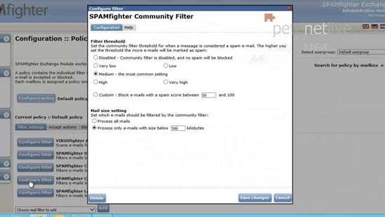 spamfighter community filter