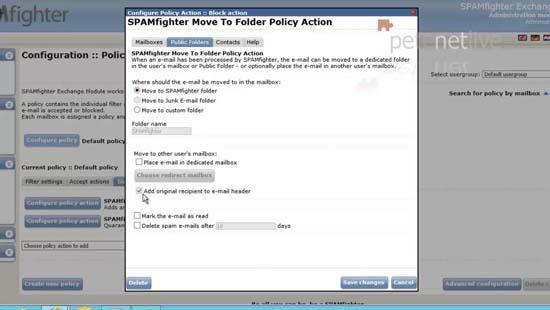 Public Folder Spam Solution