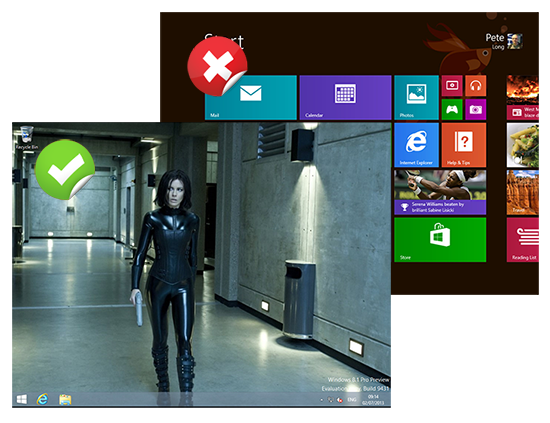 Windows 8 Boot to Desktop