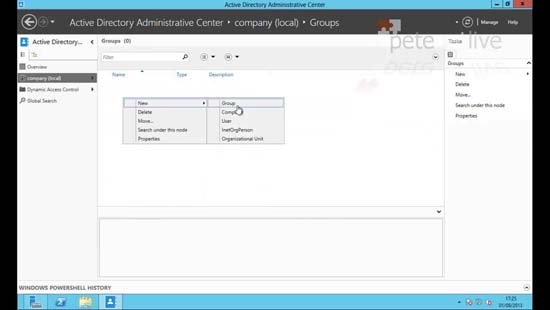 Active Directory Adinistrative Center