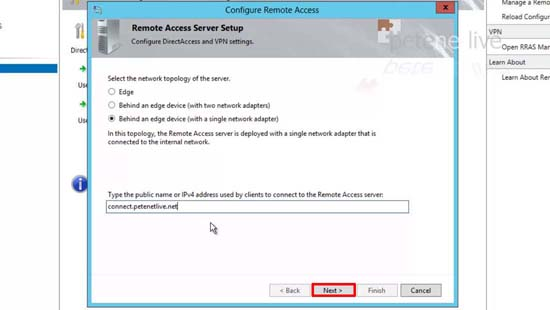 Remote Access Edge Device