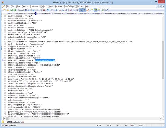 Edit vmtx File