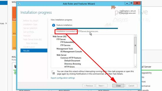 Reboot post install