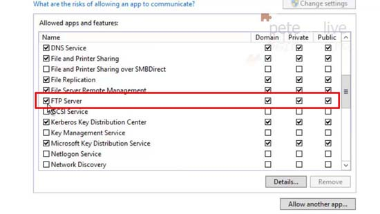 Firewall Settings for FTP
