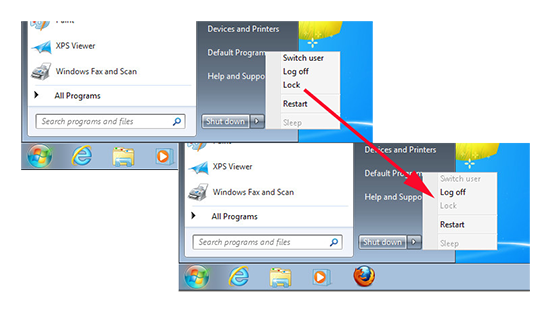 Remove Lock from Windows 7