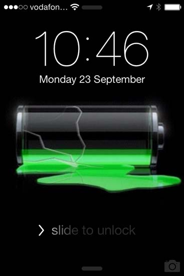 IOS 7 Display Wallpaper Correctly