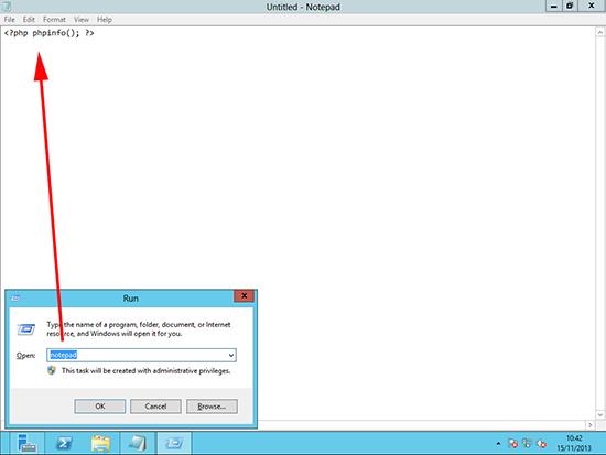 IIS windows 8 php