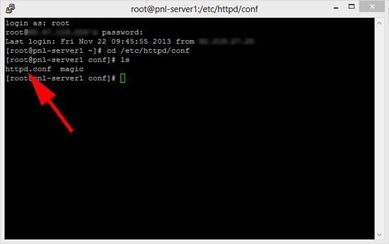 Change Apache Default webpage