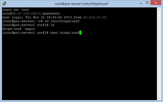 Change Apache Default Landing Page