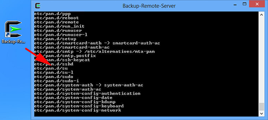 Run Rsync Backup from Cygwin