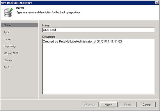 How to Add Veeam Repository