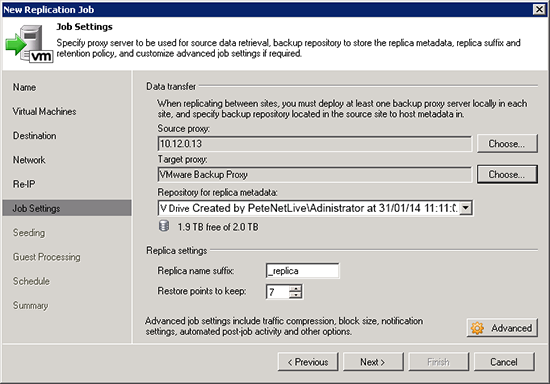 Veeam Setup Backup Proxies