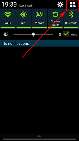 Android Notification Screen