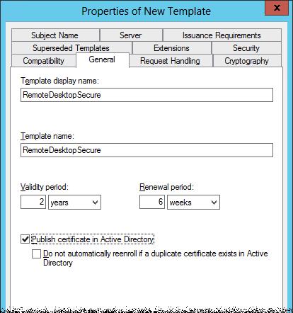 2012 RDP Certificate