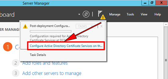 Configure SCEP Windows
