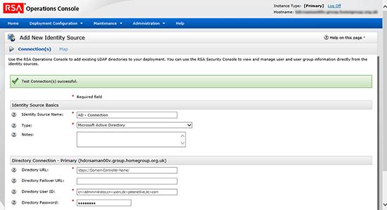 RSA Identity Source