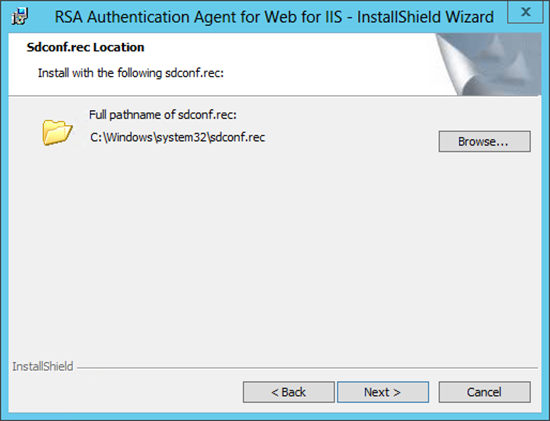 RSA for OWA 2013 Web Agent