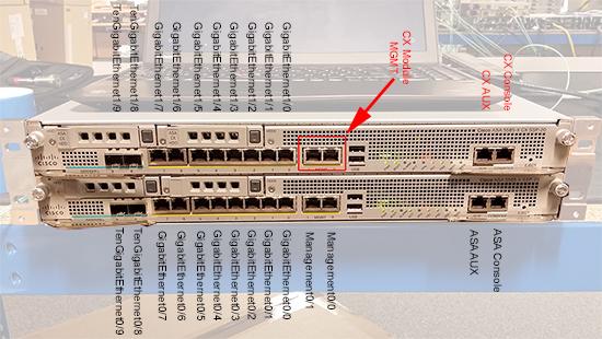 ASA 8885-X Port Numbering