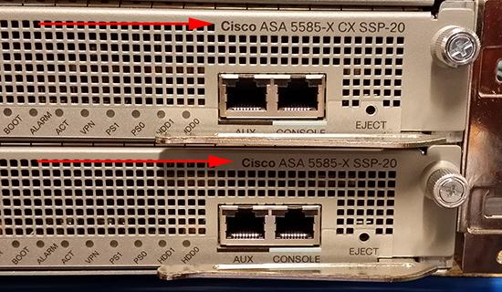 ASA and CX Module