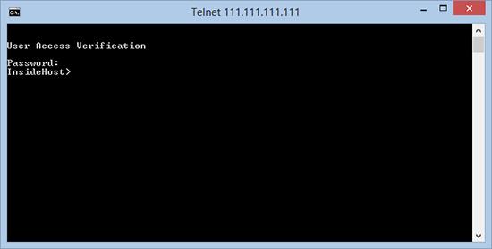 Test Telnet