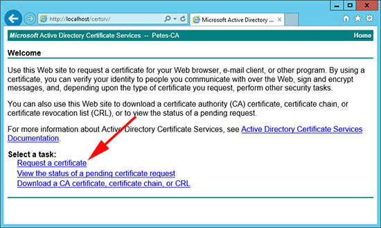 PRSM Microsoft Certificate