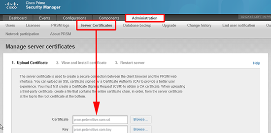 PRSM - Certificates