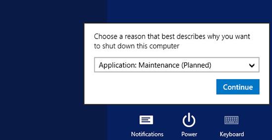 Reboot Server