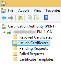 PKI Server Management