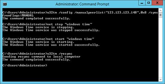 Sync Windows to Cisco