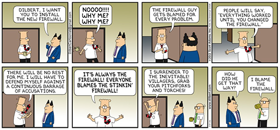 Blame the Firewall Guy