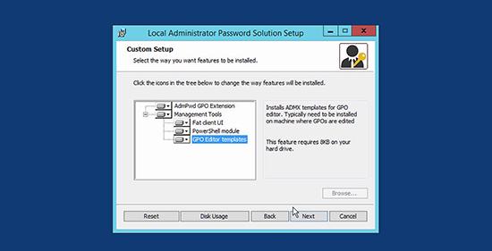 Microsoft LAPS Deployment - Install
