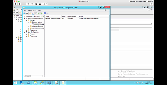 Microsoft LAPS Deployment - Deployment