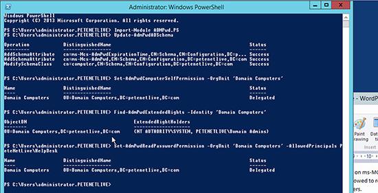Microsoft LAPS Deployment - Delegate Permissions
