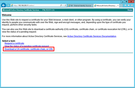 Cisco ISE Certificates