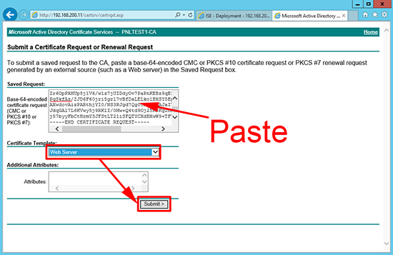 Cisco ISE Domain PKI