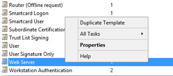 duplicate template