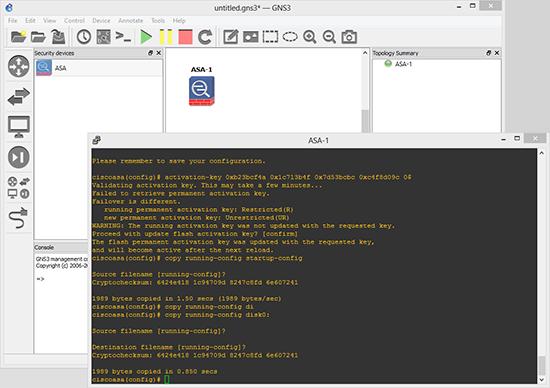 GNS3 ASA vmlinuz File