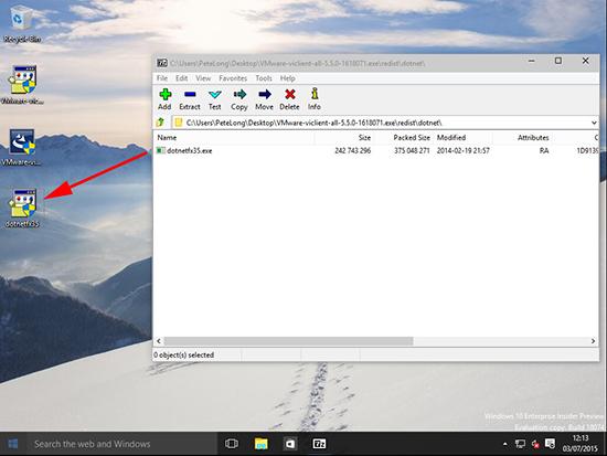 .Net 3.5 installer