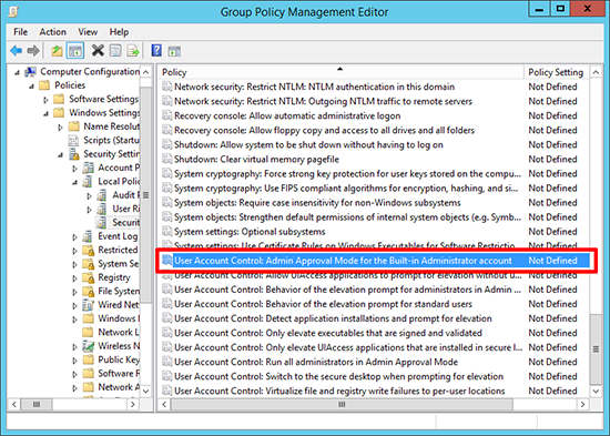 Microsodt Edge Group Policy