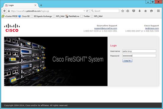 FireSight LDAP Logon